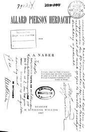 Allard Pierson herdacht: Volume 2