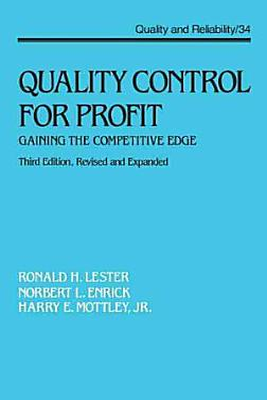 Quality Control for Profit PDF