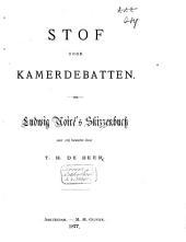 Stof voor kamerdebatten: Ludwig Noireś Skizzenbuch
