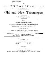 An Exposition of All the Books of the Old and New Testaments      PDF