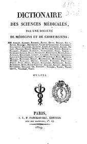 Dictionaire des sciences médicales: Volume39