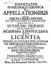 De appellationibus