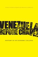 Venezuela Before Ch  vez PDF