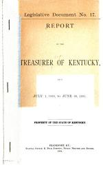 Biennial Report of the State Treasurer of the Commonwealth of Kentucky PDF