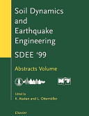 Ninth International Conference on Soil Dynamics and Earthquake Engineering PDF