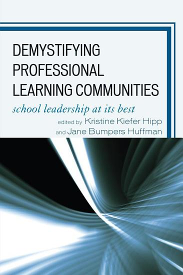 Demystifying Professional Learning Communities PDF