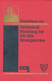 Guidelines for Technical Planning for On-Site Emergencies