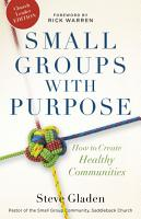 Small Groups with Purpose PDF