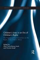 Children   s Lives in an Era of Children   s Rights PDF