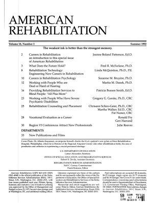 American Rehabilitation PDF