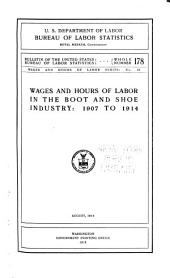 Bulletin of the United States Bureau of Labor Statistics: Issues 178-182