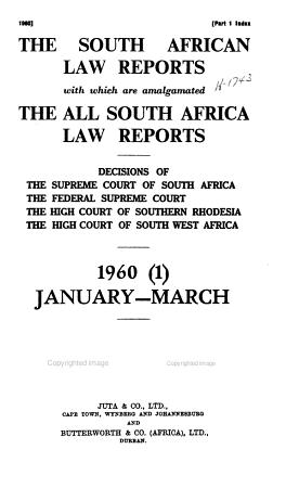 Suid Afrikaanse Hofverslae PDF