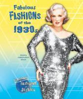 Fabulous Fashions of the 1930s PDF