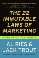 The 22 Immutable Laws of Marketing PDF