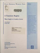 A Transitory Regime