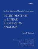 Introduction to Linear Regression Analysis  Student Solutions Manual PDF