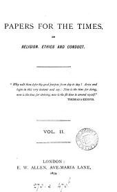 Papers for the times [ed. by W. Lewin].: Volume 2