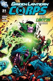 Green Lantern Corps (2006-) #21