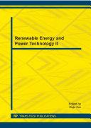 Renewable Energy and Power Technology II