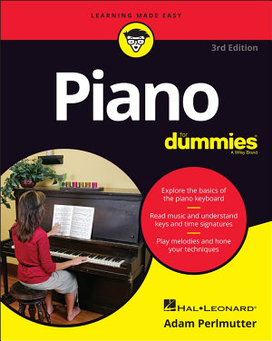 Piano For Dummies  3rd Edition