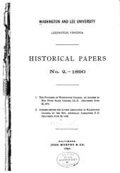 Historical Papers: Volume 2