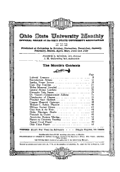 The Ohio State University Monthly: Volume 6