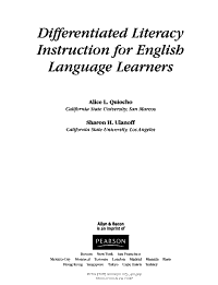 Differentiated Literacy Instruction for English Language Learners