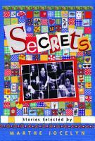 Secrets  Stories Selected by Marthe Jocelyn PDF