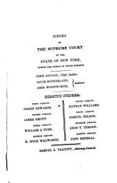 Reports of cases argued and determined in the Supreme Court: and in the Court for the Trial of Impeachments and the Correction of Errors, of the State of New York, Volume 4