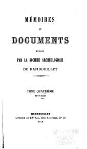 Mémoires: Volume 4