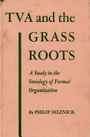 TVA and the Grass Roots PDF