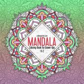 Mandala Coloring Book for Grown-Ups 1 & 2