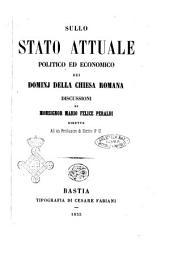 Sullo stato attuale politico ed economico dei dominj della Chiesa romana discussioni