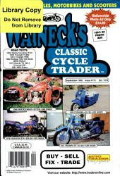 WALNECK'S CLASSIC CYCLE TRADER, SEPTEMBER 1998