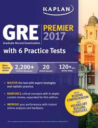 Gre Premier 2017 With 6 Practice Tests Book PDF