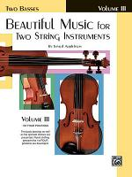 Beautiful Music for Two String Instruments  Book III PDF