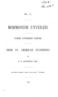 Mormonism Unveiled PDF