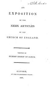 An Exposition of the Thirty-nine Articles ... The third edition corrected