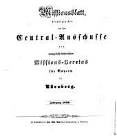 Missionsblatt: 1859