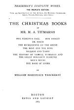 The Christmas Books of Mr. M. A. Titmarsh