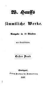Sämmtliche werke: Ausgabe in 10 bänden, Bände 1-3