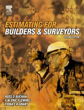 Estimating for Builders and Surveyors: Edition 2