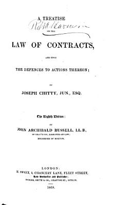 A Treatise on the Law of Contracts PDF