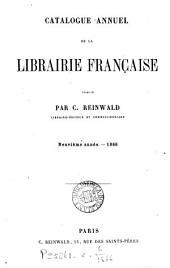 Catalogue annuel de la librairie française