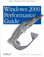 Windows 2000 Performance Guide PDF