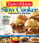 Taste Of Home Slow Cooker Throughout The Year Book PDF