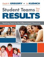 Student Teams That Get Results PDF