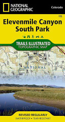 National Geographic Elevenmile Canyon, South Park Map