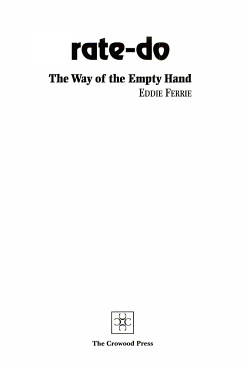 Karate Do Way of the Empty Hand PDF