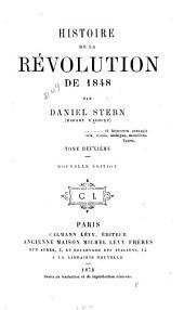 Histoire de la révolution de 1848: Volume2